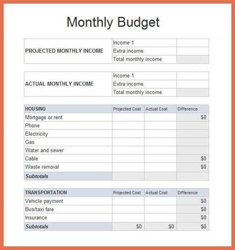 bill budget template monthly bill spreadsheet template free bio exle