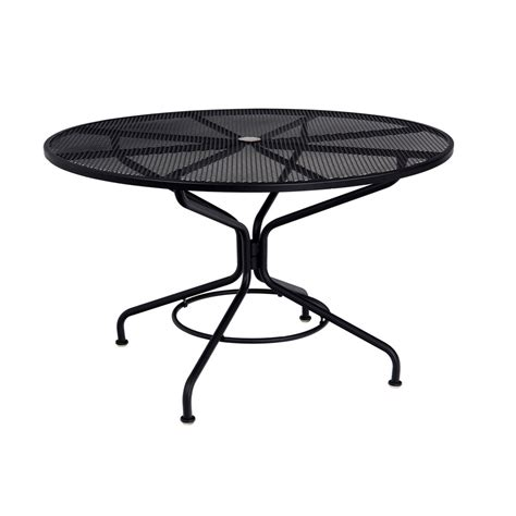 Umbrella For Bistro Table Woodard 48 Quot Contract Plus Bistro Umbrella Table 280137
