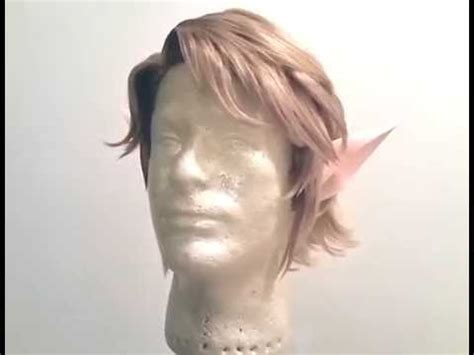 princess zelda hair legend of zelda twilight princess link wig wip youtube