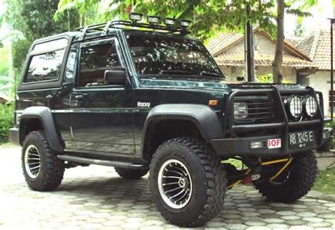 daihatsu rocky offroad 17 best images about project rocky on pinterest cars