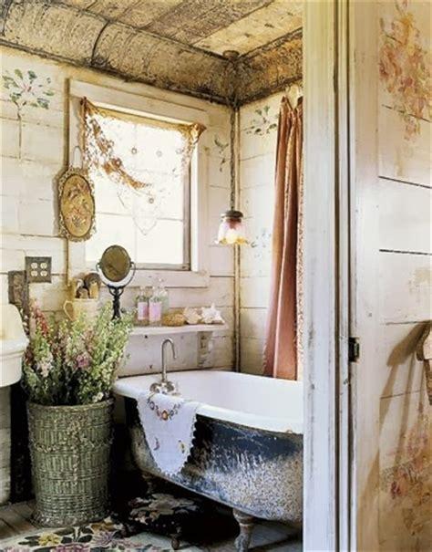 burlap  bananas shabby chic bathroom decorguest post