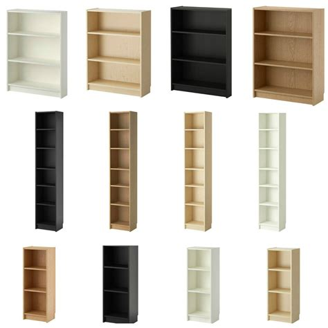 ikea display shelves ikea billy bookcase shelf shelves book storage display rack 4 colours ebay