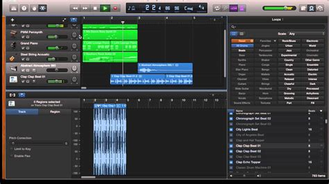 Garageband On Garageband Tutorial 2 Using Loops In Garageband On The