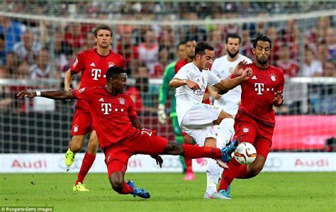 ronaldo juventus bayern bayern munich 1 0 real madrid robert lewandowski scores in 87th minute to win audi cup as