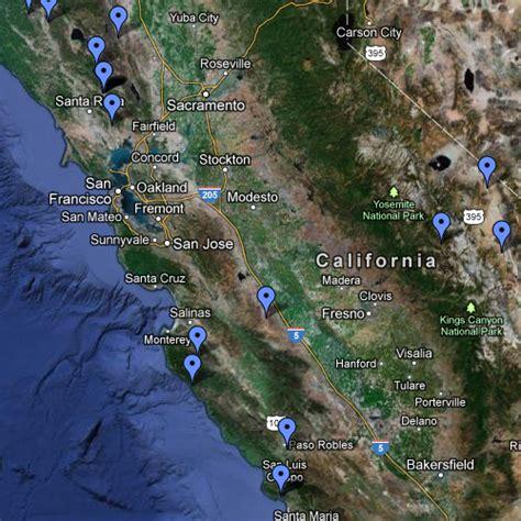springs california map springs in california map images