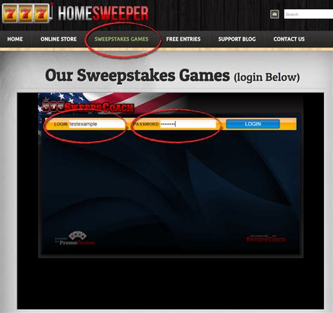 How To Play Sweepstakes Games - homesweeper s website tutorial homesweeper
