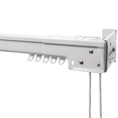 how to install traverse curtain rod bali 174 heavy duty traverse rod