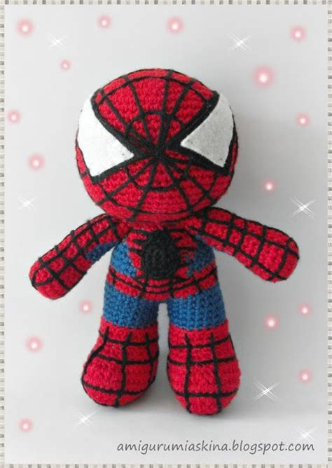 knitting pattern for spiderman doll 17 best images about crochet super heroes on pinterest