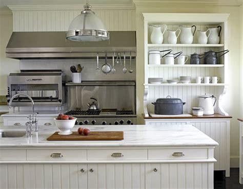 popular farmhouse style kitchen with white marble white w