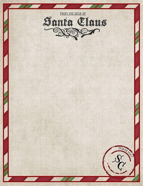 letter to santa template pinterest template letter from santa letter of recommendation