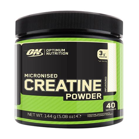 creatine gold standard micronised creatine powder 144 g creatine optimum