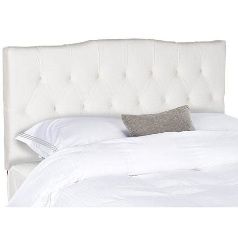 velvet tufted headboards axel velvet tufted headboard queen 8230213 hsn