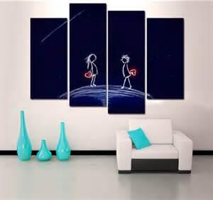 deco tableaux design tableau romantique