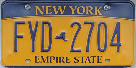 Ny Vanity Plates by Click On Plate For Larger Image