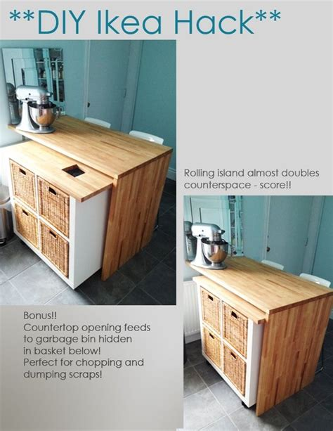 Ikea Kitchen Island Hack Diy Ikea Hack Kitchen Island Tutorial Soooo Worth