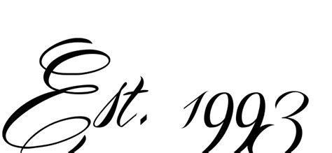 est 1992 tattoo designs unique fonts for tattoos was created using our