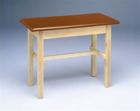 h brace table upholstered h brace taping table
