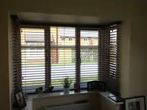 Venetian Blinds For Bay Windows Wood Venetian Bay Window South Cheshire Blinds South