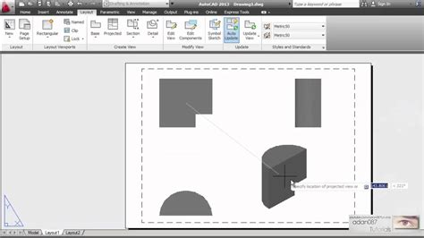 autocad section autocad create a section view of a 3d model that was