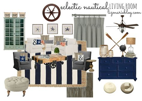 nautica home decor eclectic nautical living room living rooms room and house
