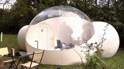 backyard bubble outdoor bubble pod hotel unveiled youtube