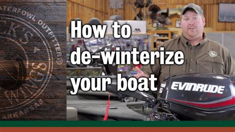 how to winterize a boat without starting it how to de winterize your boat youtube