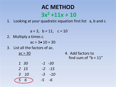 10 Factors To Consider When Looking For A Pet by Ac Method Of Factoring Ax2 Bx C Ppt
