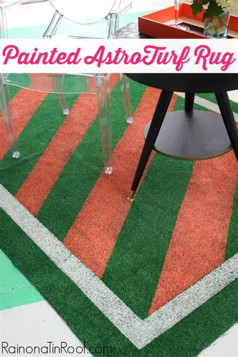 Diy Painted Rug by Diy Painted Astroturf Rug For Summer Events