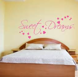 wall sticker bedroom sweet dreams wall sticker art decals quotes bedroom w43 ebay