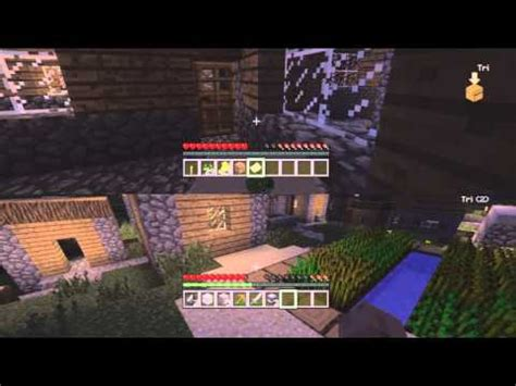 couch coop ps3 minecraft on ps3 couch co op 1 setting up splitscreen