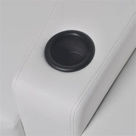 sillon reclinable blanco sill 243 n blanco reclinable de cuero artificial con 2 plazas