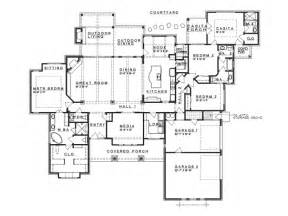 Ranch Style Floor Plan by Eplans Prairie House Plan Hill Country Fusion Ranch