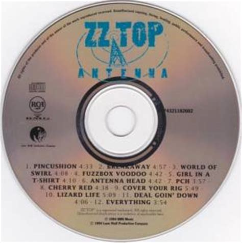Zz Top Pch - zz top antenna cd 1994