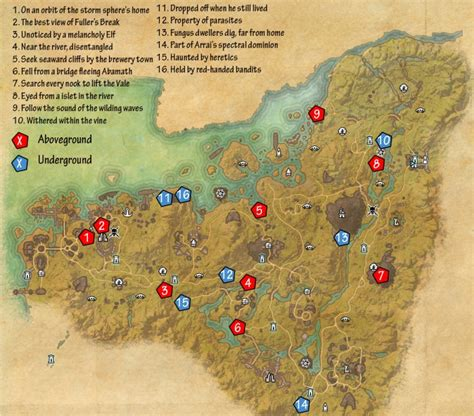 eso skyshard map eso malabal tor skyshards guide dulfy