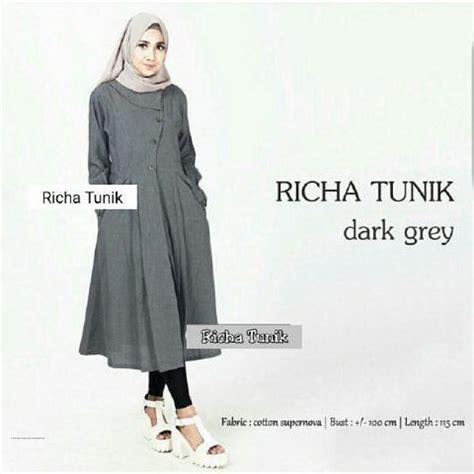 Jual Baju Muslim Tunik Mahesa Tunik Murah busana muslim modis richa tunik grosir baju muslim pakaian wanita dan busana murah