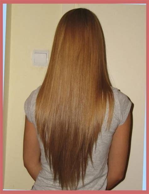 corte en v y degrafilado corte de cabello en capas en v imagenes de cortes de cabello