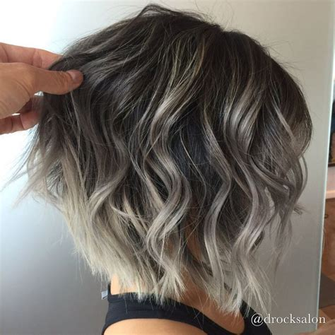 pics of lo lites in short white hair image result for silver highlights with dark low lights
