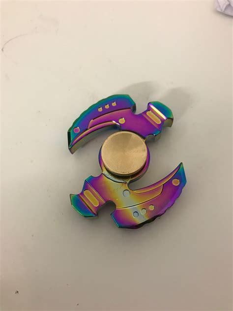 Neo Chrome Rainbow Speedy Metal Aluminium Fidget neo chrome z fidget spinner fidget spinner uk