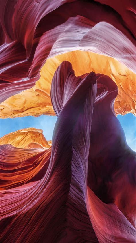 wallpaper antelope canyon arizona usa  nature