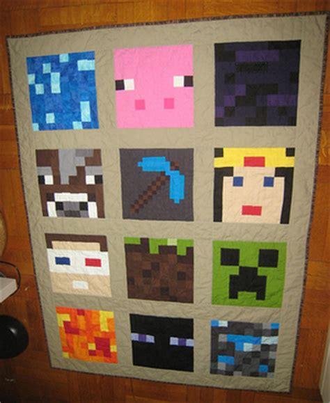 Minecraft Quilt Cover by Minecraft Quilt Kylee S Krafting