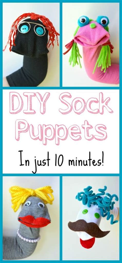 diy sock puppets these sock puppets are so easy and a ton of