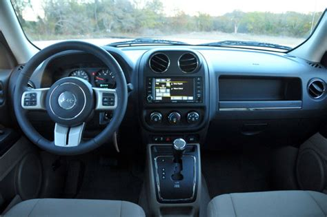 Jeep Patriot Latitude Interior january 2013 car guide and review