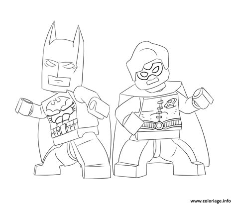 detailed batman coloring pages coloriage batman and robin lego dessin