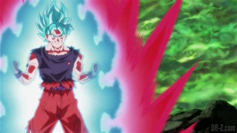 imagenes de goku kaioken blue dragon ball super episode 115 00101 goku super saiyan blue