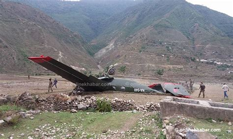 Kathmandu To Bajura update pilot killed 2 rescued as nepal army plane overshoots runway in bajura onlinekhabar