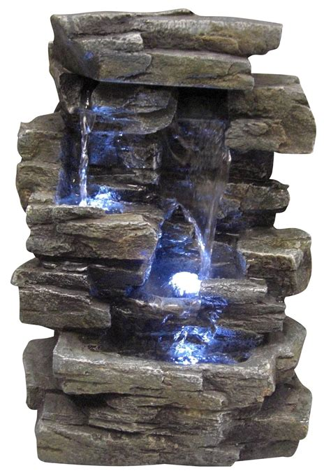 amazon com alpine win220 waterfall tabletop fountain