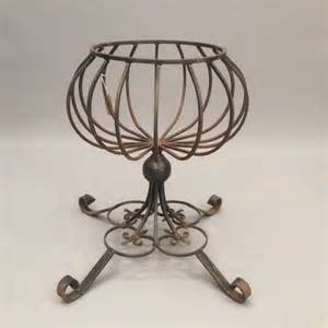 Wrought Iron Planter Stands by Antiques Atlas Wrought Iron Plant Stand