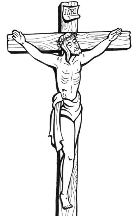 imagenes de jesus en la cruz para colorear el rinc 243 n de las melli dibujo cristo en la cruz