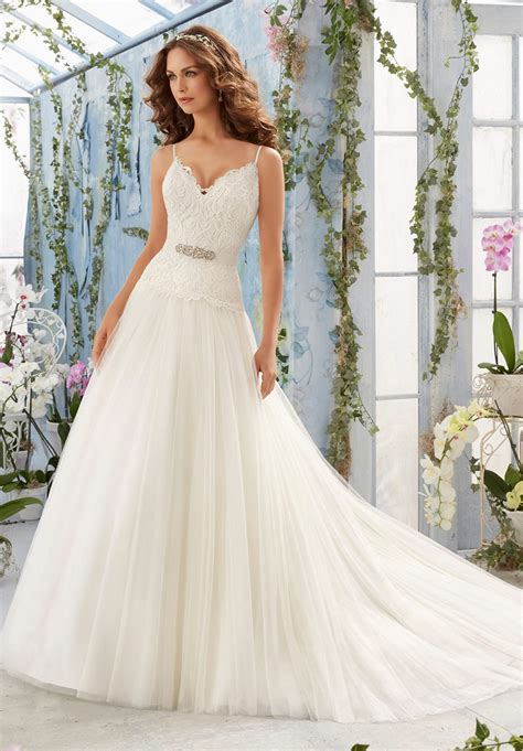 mori lee  wedding dress madamebridalcom