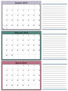 quarterly calendar template quarterly calendar 2016 excel template yearly calendar
